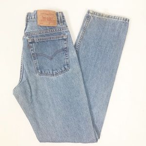 Vintage Levi's 505 High Waisted Mom Jeans